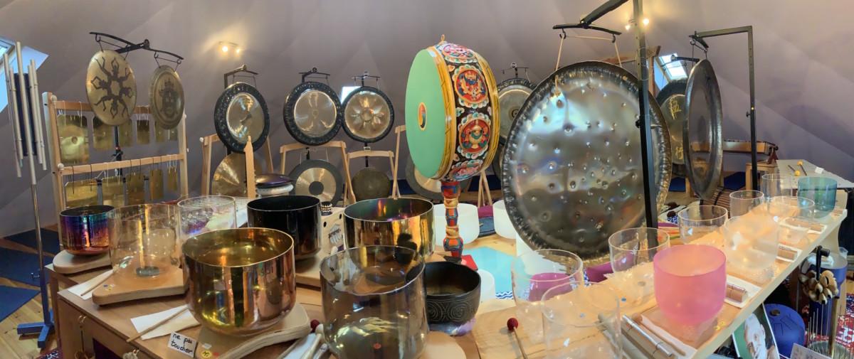 Voyage vibratoire gongs et bols de cristal - Zome Bient Être