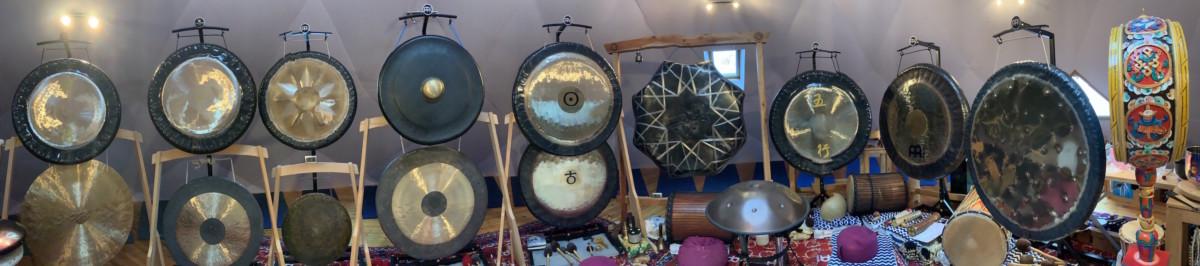 Les gongs relaxation par les sons